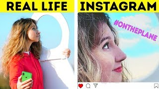 INSTAGRAM VS . ACTUAL LIFE